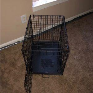 "24"" dog cage."
